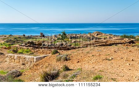 Tombs Of The Kings, A Necropolis In Paphos - Cyprus