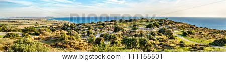 Landscape Of Kourion, An Ancient Greek City In Cyprus