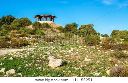 Ruins Of Kourion, An Ancient Greek City In Cyprus