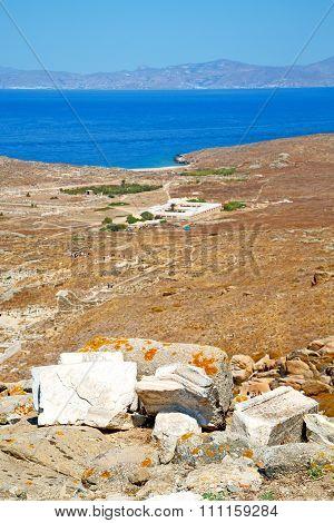 Sea In Delos   The Historyca  Site
