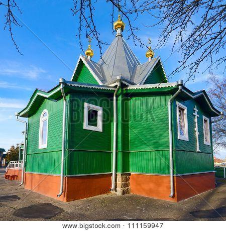The Temple In St. Afanasievskiy Monastery, Brest, Belarus