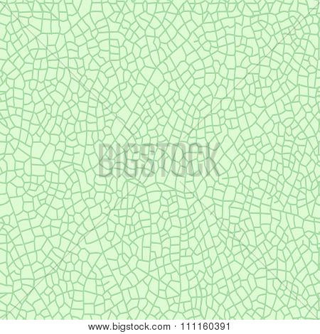 Seamless Pattern From Thread Of Green Leave