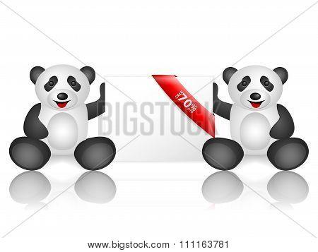 Pandas 70 Percentage Off
