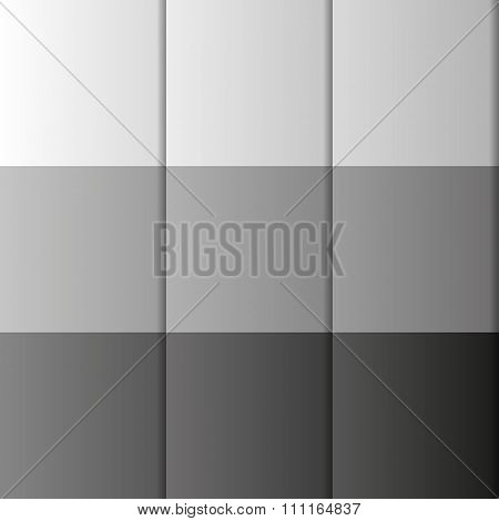 Greyscale Background Made Of Boxes In Shades Of Grey