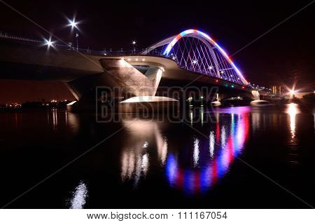 Lowry Avenue Bridge In Minneapolis