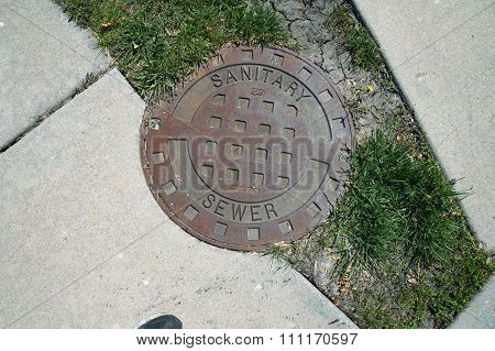 Sanitary Sewer Cover