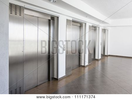 Elevator Cabin Stainless Steel