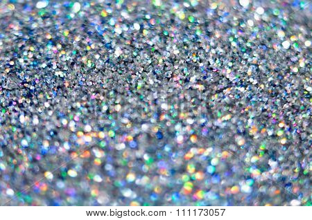 Glitter Shiny Background A Blurred