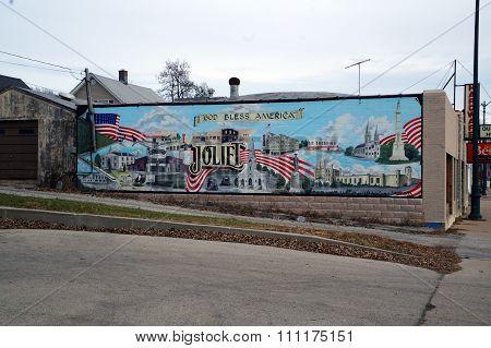 Patriotic Mural