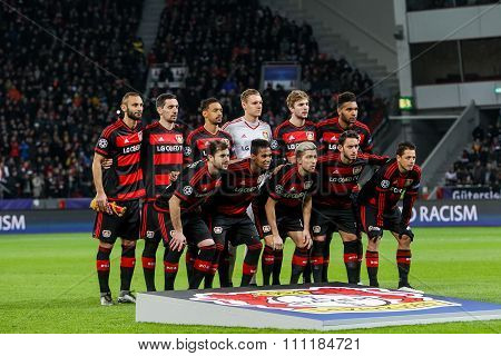 Bayer 04 Leverkusen Vs Barcelona Champions League