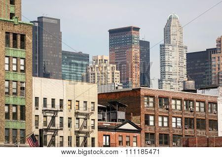 Residential Cityscape Of Manhattan
