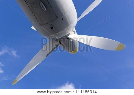 Propeller Of Military Aircraft