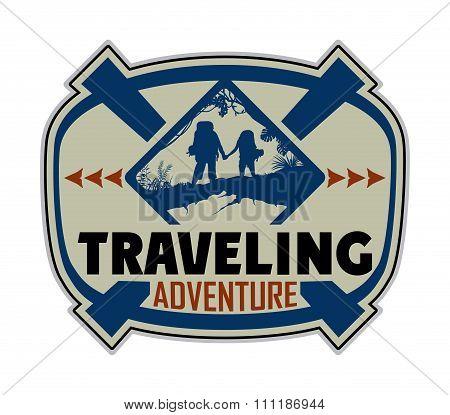 Traveling logo
