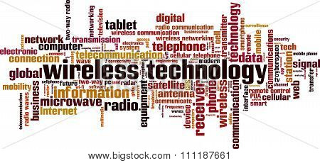 Wireless Technology Word Cloud