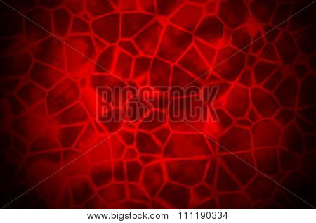 Abstract Red organic Illustration of blood or skin