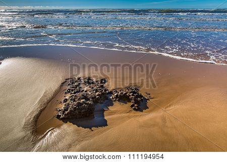 Beach of Atlantic Coast, Morocco