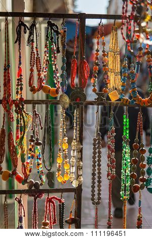 Detail Of Shop In Essaouira, Morocco