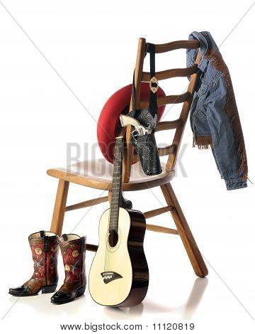 A Child's Cowboy Gear