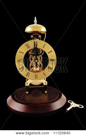 Windup Clock And Key