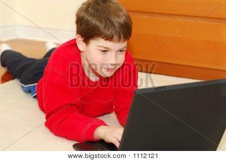 Boy Computer