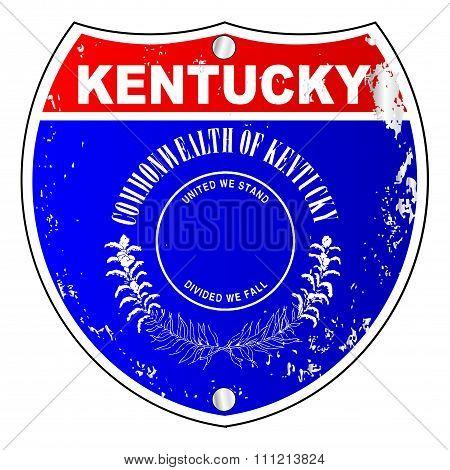 Kentucky Interstate Sign