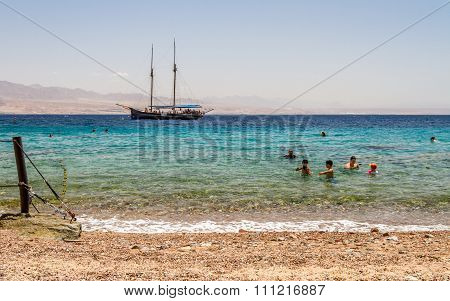 Gulf Of Aqaba, Red Sea, Israel