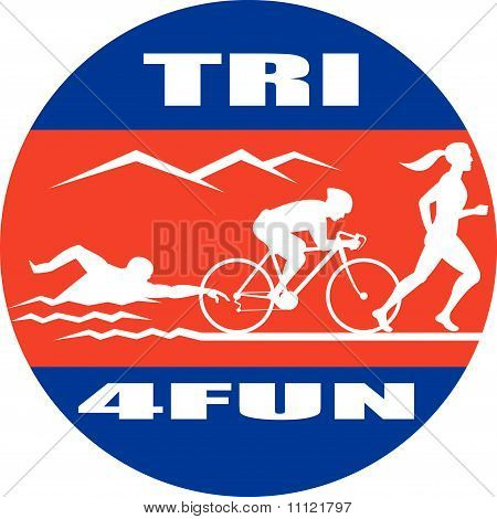 triathlon run swim bike