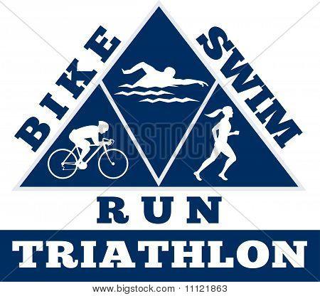 triathlon run swim bike