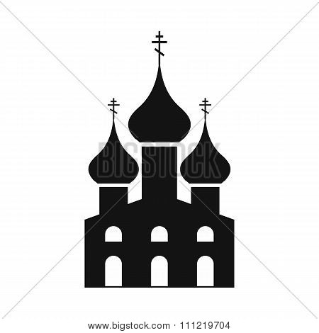 Russian orthodox church simple icon