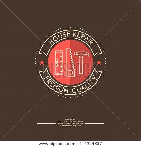 Logo. House Repair.
