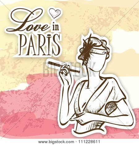 love in paris mademoiselle