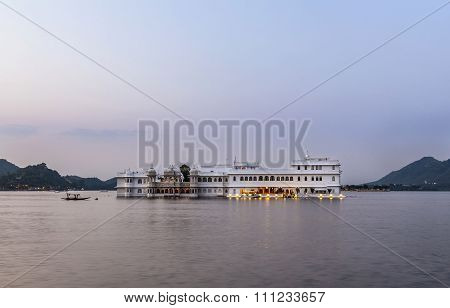 The Lake Palace, Udaipur Rajasthan In Early Morning