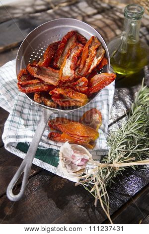 Dried Tomatoes With Rosemary