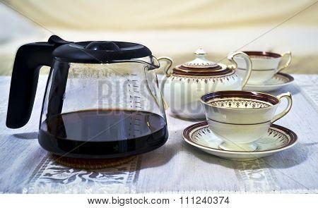 dinnerware coffee