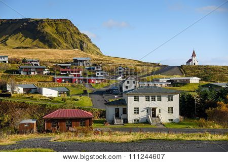 Vik, Little Town In Southern Iceland
