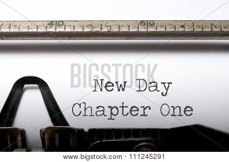 New Day, Chapter One
