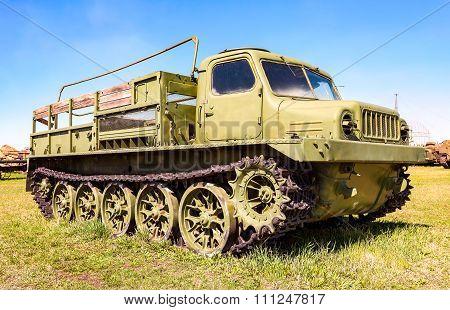 Crawler-transporter Truck At The Technical Museum In Togliatti, Russia