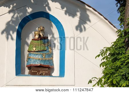 Chapel With A Statue Of Mother And A Child