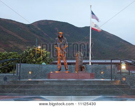 Lone Sailor Statue
