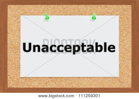 Unacceptable Concept