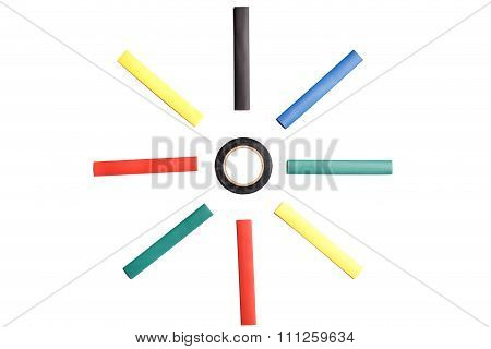 Colored Heat Shrink Tubing