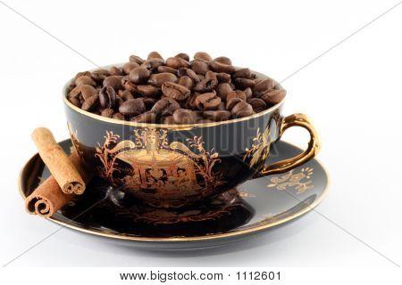 Bronze-Coffee Grains