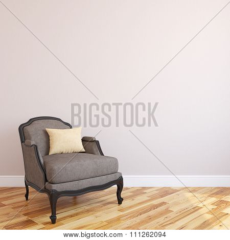 Interiorof Living-room. 3d rendering.