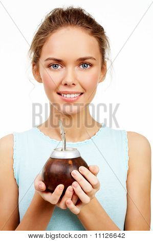 Girl With Calabash