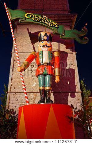 Christmas fair, Athens.