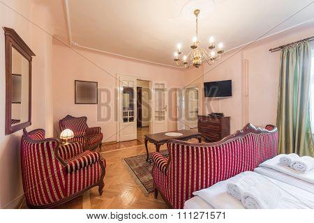 Hotel Suite Interior