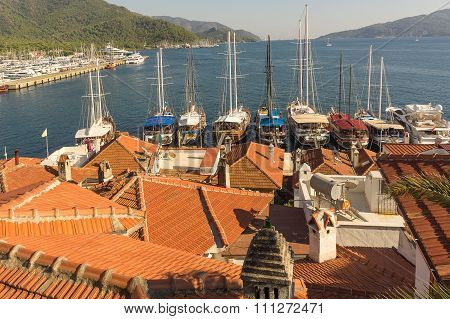 The Marmaris bay