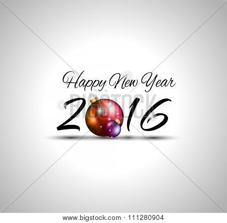 2016 Happy New Year and Merry Christmas  Background for Seasonal Greetings Cards, Parties Flyer, Dineer Event Invitations, Xmas Cards and sp on.