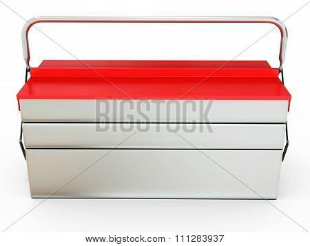 3D Closed Metallic Toolbox