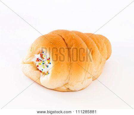 Bread Stuffed With Cream